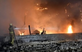 Nočni požar v Stični