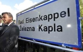 Nestrpneži na avstrijskem Koroškem so se lotili krajevnih tabel s slovenskimi imeni