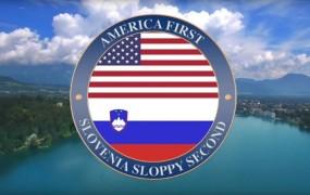 VIDEO: Če Trump hoče, da je Amerika prva... je lahko Slovenija druga?