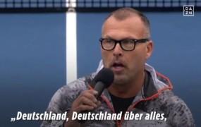 VIDEO: Američani so nemškim teniškim igralkam zapeli nacistično himno