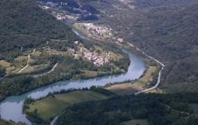 V Solkanu ob Soči našli truplo 49-letnega Švicarja