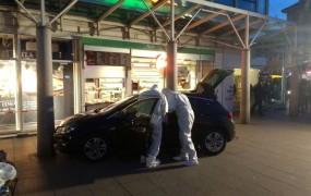Nemška policija ustrelila napadalca, ki je z avtom zapeljal v pešce
