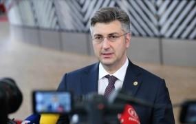 Plenković pravi, da za rešitev mejnega spora s Slovenijo potrebuje dvotretjinsko večino v saboru
