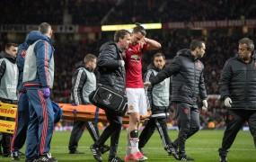Manchester United se je odpovedal poškodovanemu Ibrahimoviću