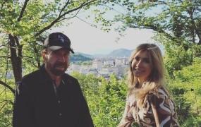 Chuck Norris očaran nad Ljubljano: Čudovito mesto s čudovitimi ljudmi