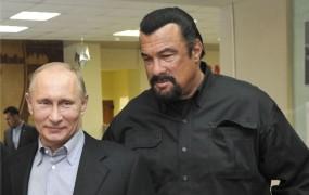 Putinovega prijatelja Stevena Seagala ne spustijo v Ukrajino