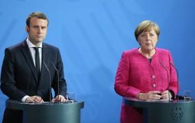 Merklova in Macron sta pripravljena na spremembe pogodb EU