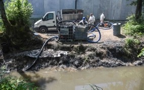 Mini okoljska katastrofa na Vrhniki; pridelek s področja, kjer se je vil dim, lahko zmečejo v smeti