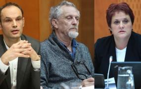 Anže Logar in Jelka Godec: na sledi banksterjem in zdravstveni mafiji