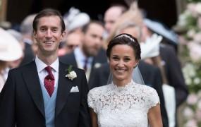 Poroka leta na otoku, pred oltar stopila Pippa Middleton