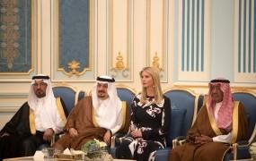 Ne Melania, Ivanka Trump je senzacija med Savdijci