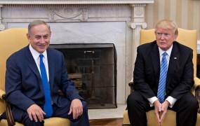 Trump včeraj pri Arabcih, danes pri Izraelcih