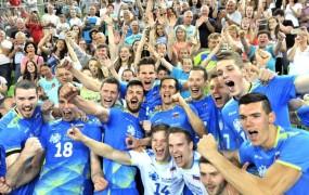Zgodovinski uspeh slovenskih odbojkarjev: prvič na svetovnem prvenstvu