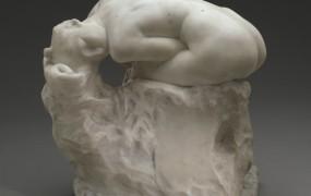 Marmornat Rodinov kip na dražbi prodan za 3,7 milijona evrov