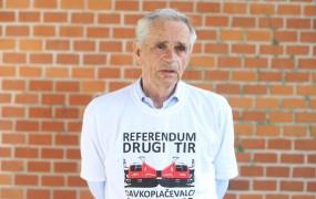Kovačič: Ta referendum je zame plebiscit o tem, ali bomo nehali krasti in začeli pošteno delati