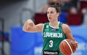 Po porazu proti Srbiji slovenske košarkarice končale z nastopi na EP