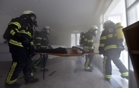 Po požaru v Sladkem vrhu šest ljudi pristalo na pregled v bolnišnici