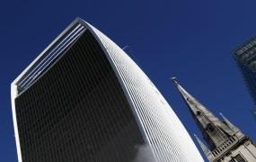 Kljub brexitu v Londonu padajo rekordi: stolpnica walkie-talkie prodana za 1,15 milijarde evrov