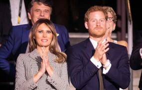 Melania prvič brez Donalda v tujini: princa Harryja je povabila v Belo hišo