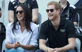 Princ Harry in Meghan prvič skupaj v javnosti