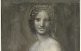 Leonardo da Vinci je morda skiciral golo Mona Lizo