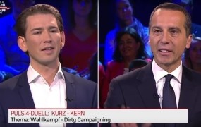Umazana volilna kampanja v Avstriji: medsebojno obtoževanje kanclerskih kandidatov