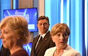 Analiza predvolilnih anket: Pahorjeva zmaga v prvem krogu, podpora Romani Tomc opazno navzgor