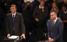 Episcenter: Pahorju že v prvem krogu 55 odstotkov, Šarcu 21 odstotkov