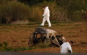 Na Malti avto bomba ubila novinarko, ki je premierja povezala z afero Panamaleaks