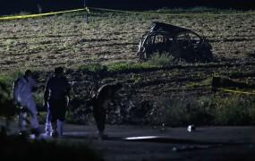 V atentatu na malteško novinarko uporabljen semtex, plastično razstrelivo teroristov
