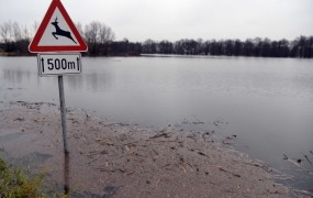 Ponekod še brez elektrike, nekatere reke znova naraščajo