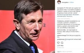 """Pahor se sam sebi zdi """"zguban kot pes"""", uporabniki Instagrama bi ga zaprli v cirkus"""