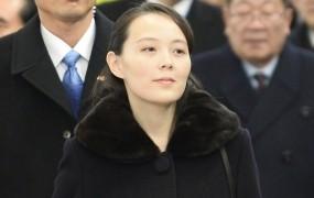 Diktatorjeva sestra na obisku v Južni Koreji