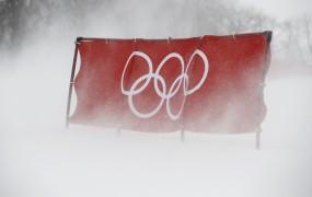 Bo veter odpihnil olimpijske igre? Tekmovanja so onemogočena, zaprli so olimpijski park
