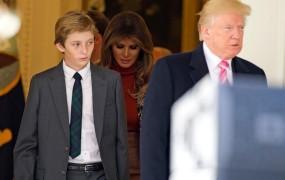 Ste vedeli? Barron Trump od tretjega leta govori tekoče slovensko!