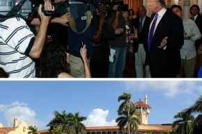 Donald Trump posestvo Florida