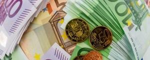 Gotovina, denar, evri