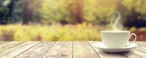 kava, jutro, sonce