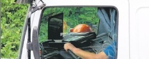 tovornjakar voznja