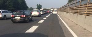 Primorska avtocesta, gneča, zastoj