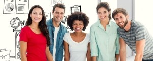mladi kolektiv zaposlitev delo