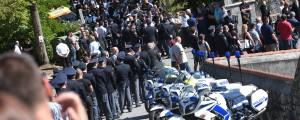 pogreb policist Ivo