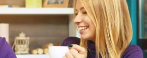 užitek ob kavi