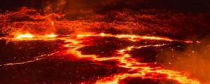 Lava, ognjenik