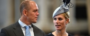 Mike in Zara Mike Tindall