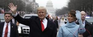Inavguracija, Donald Trump, Melania Trump, telesni stražar