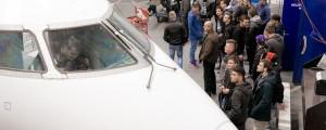 Podjetje Adria Airways Tehnika so obiskali dijaki Šolskega centra Ptuj.