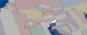 slovenija na zemljevidu