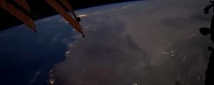 video posnetek, mednarodna vesoljska postaja, iss, nevihte