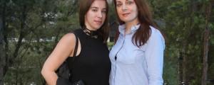 Saša Broz in hči Sara Zidarić